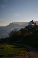 DECEMBER SUNSHINE ROBIN HOODS BAY