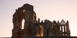 SUNRISE WHITBY ABBEY